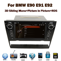 "7""Capacitive Touch Screen Car audio System for BMW E90 E913G Bluetooth Radio RDS USB IPOD Steering wheel control Canbus"