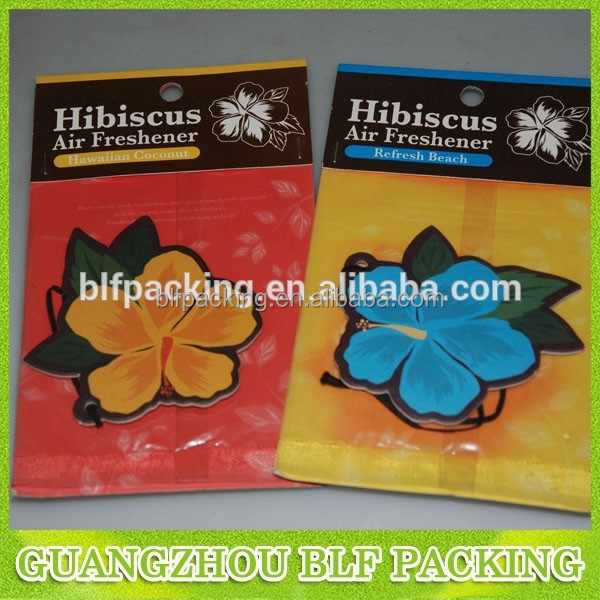 Flower shape air freshener