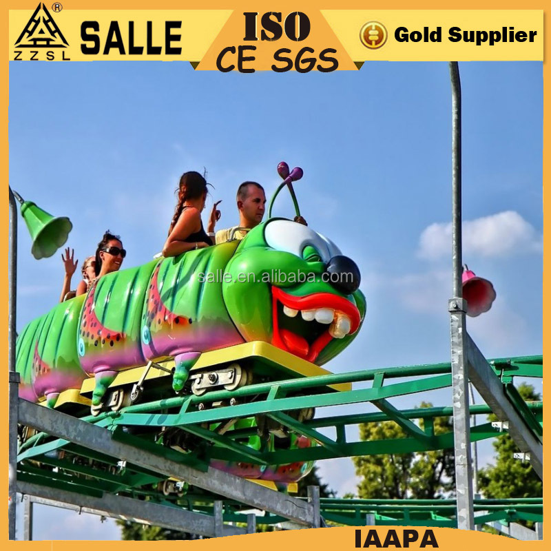 china manufacturer insect roller coaster ride