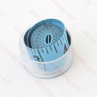 Chinese Manufacturer fiber glass colourful fabric tape measure / 150cm & 60'' length 2.0cm width tailor tape for sewing # KH020