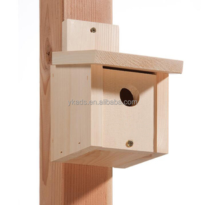 Brown top grade wooden bird houses