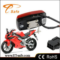 Mini gps tracker for motorcycle gps 304A With relay ,Geo-fence