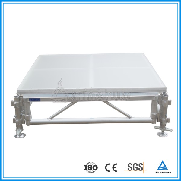 portable acrylic dance floor for events