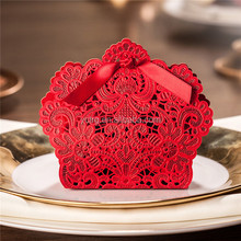 Laser Cut Favor Box/ wedding candy box/ gift box