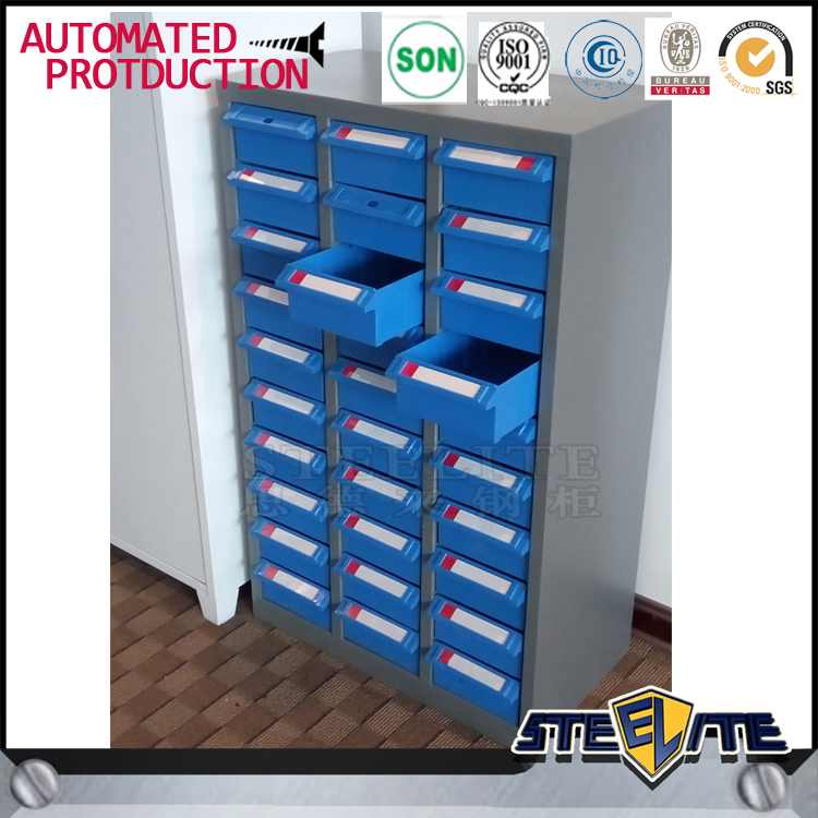 Professional spare part Tool cabinet plastic 30 drawer storage cabinets on sale