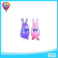 2016 China Walking rabbit balloon for party decoration or kids'gift and party needs