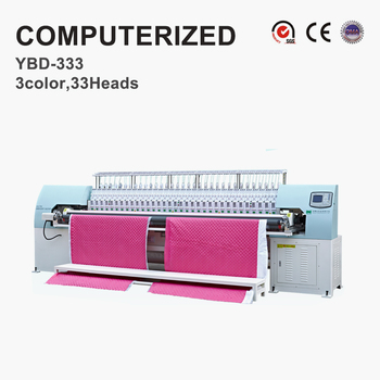 High efficiency YIBDA computerized quilting embroidery machine with competitive price