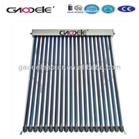 High Efficiency Non Pressure Tubular Solar Collector for Swimming Pool Use