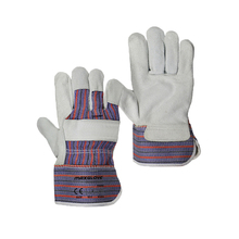 Men's polycotton drill fabric welding gloves price