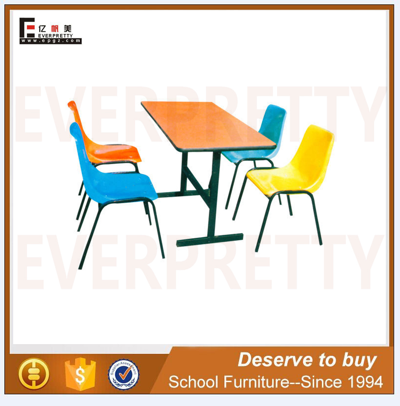 extendable wooden fiber dining table set luxury