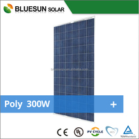 Hot sale high quality poly 300w solar panel price per watt price list