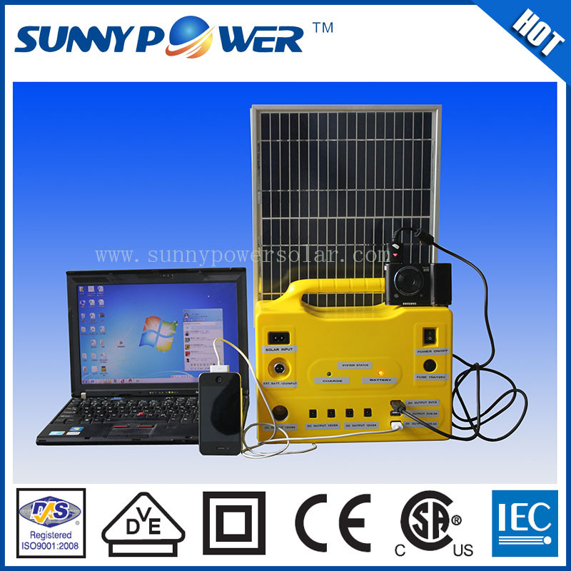 Competitive price commercial use 80w portable solar power systems for home appliances