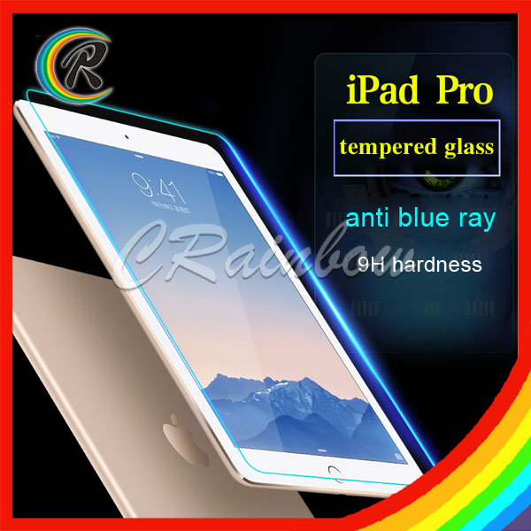 9H Clear laptop tempered glass protector for apple ipad Pro screen