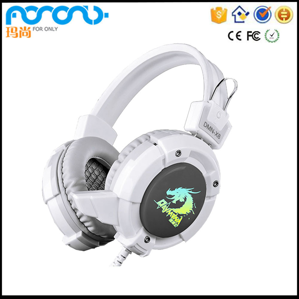 Kraken Pro Analog Gaming Headset for PC, Xbox One and Playstation 4, White