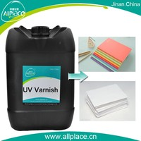 Glossy and uv liquid for uv coating / laminating