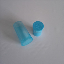 Plastic Child Proof Bottle Squeeze Pop Top Vials Medicine Herb Container