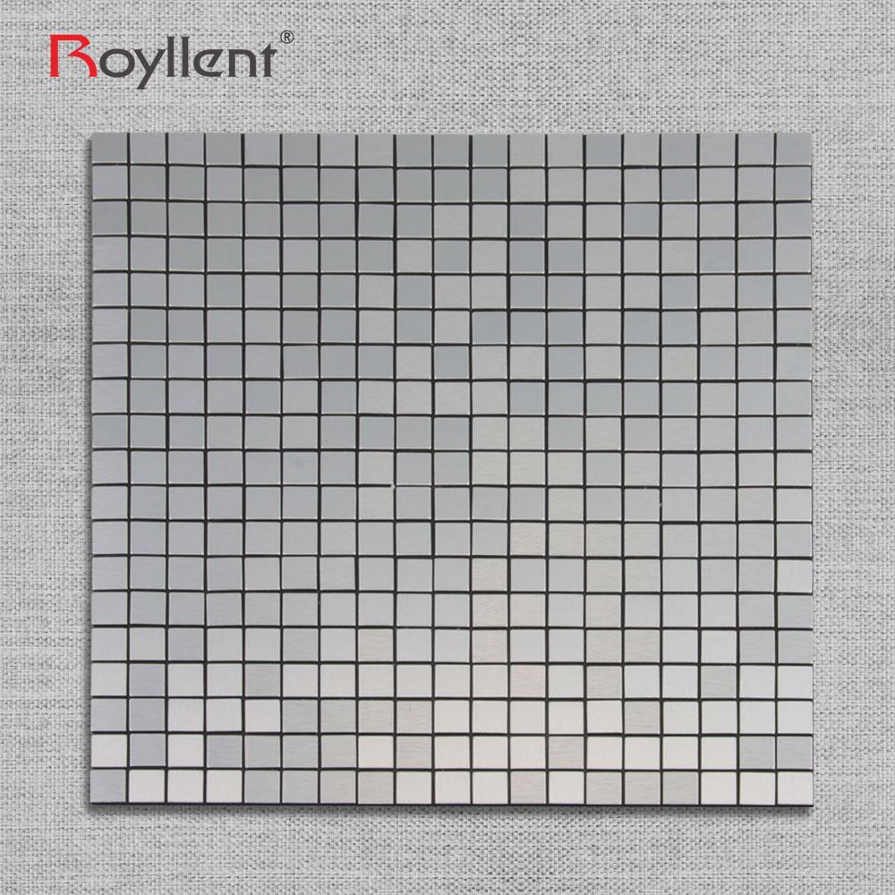 argento bianco lucido mattonelle di mosaico di vetro mosaico per bagno cucina moderna per il