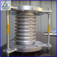 stainless steel 304 Metal Bellows Expansion Joints / Compensators.