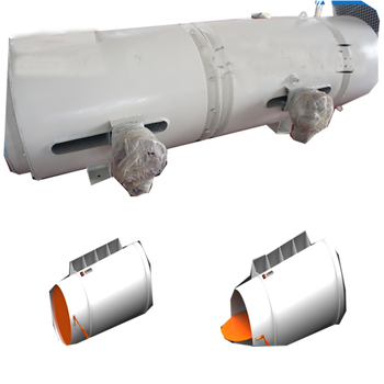 Mine use dust remover with Counter-rotating fan