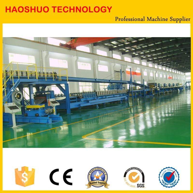 Continuous PU foam sandwich panel machine/PU sandwich panel production line