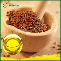 100% fresh and pure organic flaxseed oil for healthy care