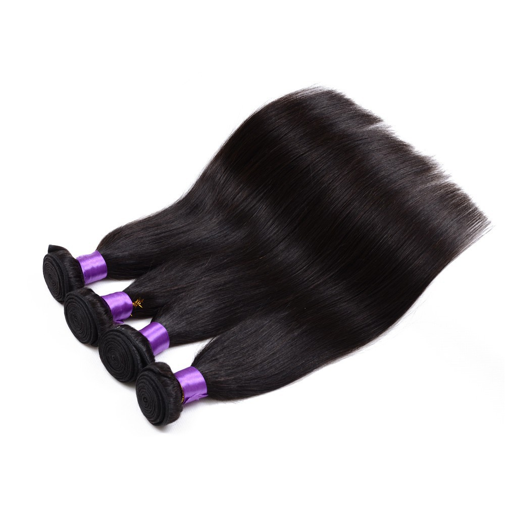 Dyeable Natural Color Xuchang Factory Price Tangle Free 22 Inch Brazilian Virgin Human Hair Weave Extensions
