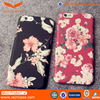 High Quality Single Flower Printing Design Soft TPU Water Transfer Phone Case for Iphone 6s