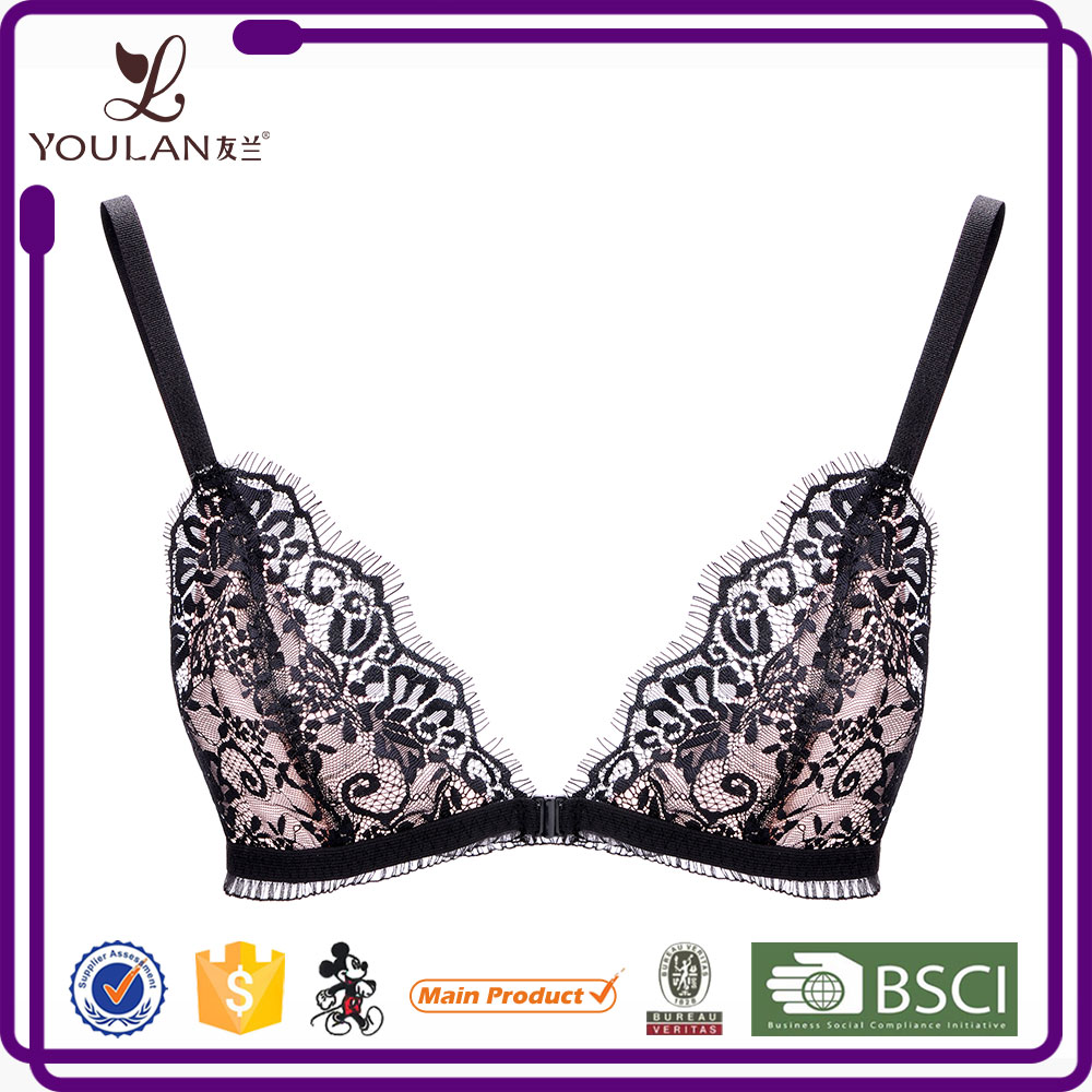 Wholesale Sweet Black brassiere