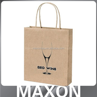 China factory offer Nice!!! no laminaiton recycled paper bag for women