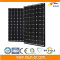 High efficiency 250W mono solar panel with TUV,CE,CEC