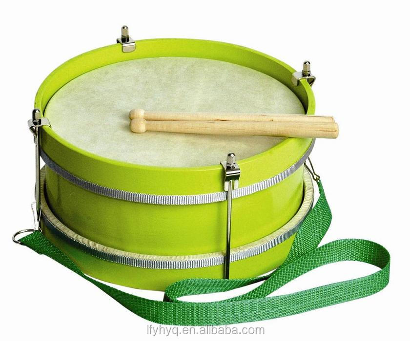 "10"" misucal instrument percussion mini snare marching Drum with wood stick"