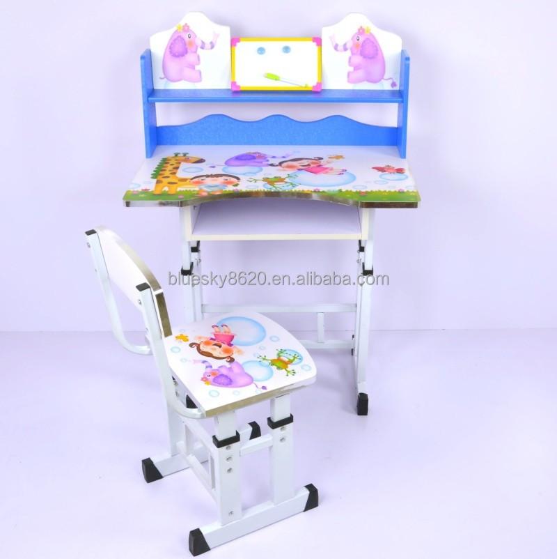 Caja de cart n plegable ajustable ni os mesa de estudio y - Sillas de estudio para ninos ...