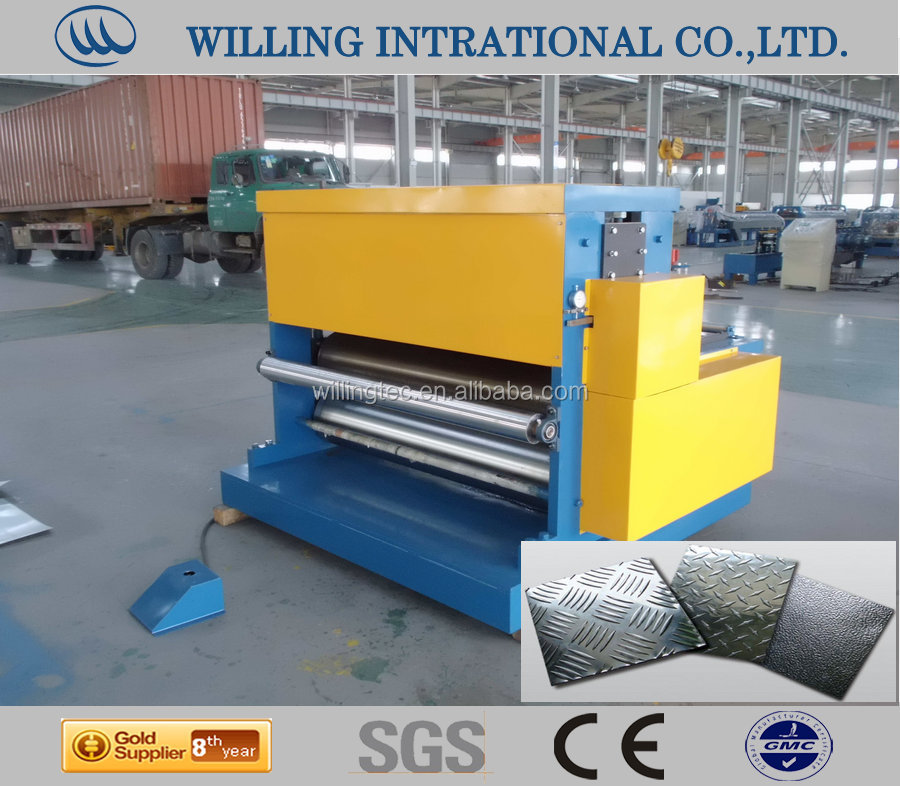 four roller Embossing Machinery