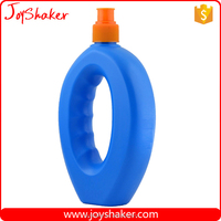 Best Promotion Price BPA Free Soprt Bottle JoyShaker, PE Plastic Handle Shape Water Bottle 17oz