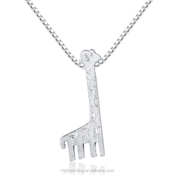 Wholesale 925 Sterling Silver Women Accessories China,Giraffe Pendant