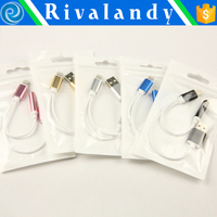 Factory price NEW Hot Micro USB Magnetic Adapter Charger Cable Metal Plug For Android