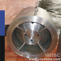 VATAC stainless steel axial flow check valve 325