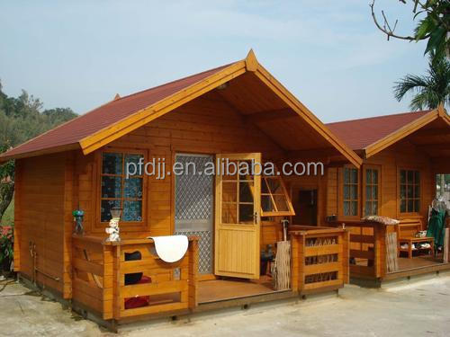 Garden luxury prefab wood houses