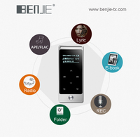 Benjie quran audio mp3 player touch screen mini fm radio mp3 player