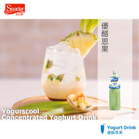 Made in Taiwan Yogurscool Concentrated Yoghurt Drink
