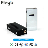 New Coming Ecig Sigelei Spare Parts Sigelei Wholesale 18650 Battery Mod Sigelei Mechanical Mod