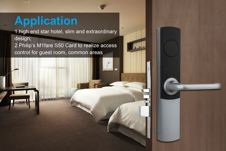 Star hotel card door lock access control