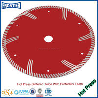 "125mm hot press MG turbo 5"" diamond saw blade for granite,marble brick and concrete.grinding wheel blade granite cutting wheel"