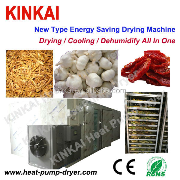 Dryer type Vegetable Preparation Machine , Airflow Dryer