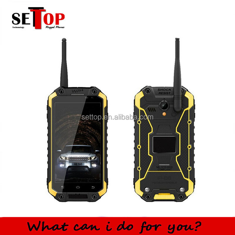 IP68 Waterproof Rugged 3g Mobile Smartphone 4.7 Inch Android 4.4 Dual SIM Walkie Talkie WIFI GPS