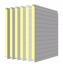 2017 Hot sell PPGL corrugated PUF wall cladding/covering sheets