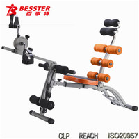 BEST JS-060SB SIX PACK CARE six pack care for abdominal fitness exercise machines life fitness equipment leg trainer bike