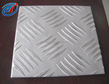 High quality embossed aluminium alloy sheet / aluminum checkered plate 3003 h14