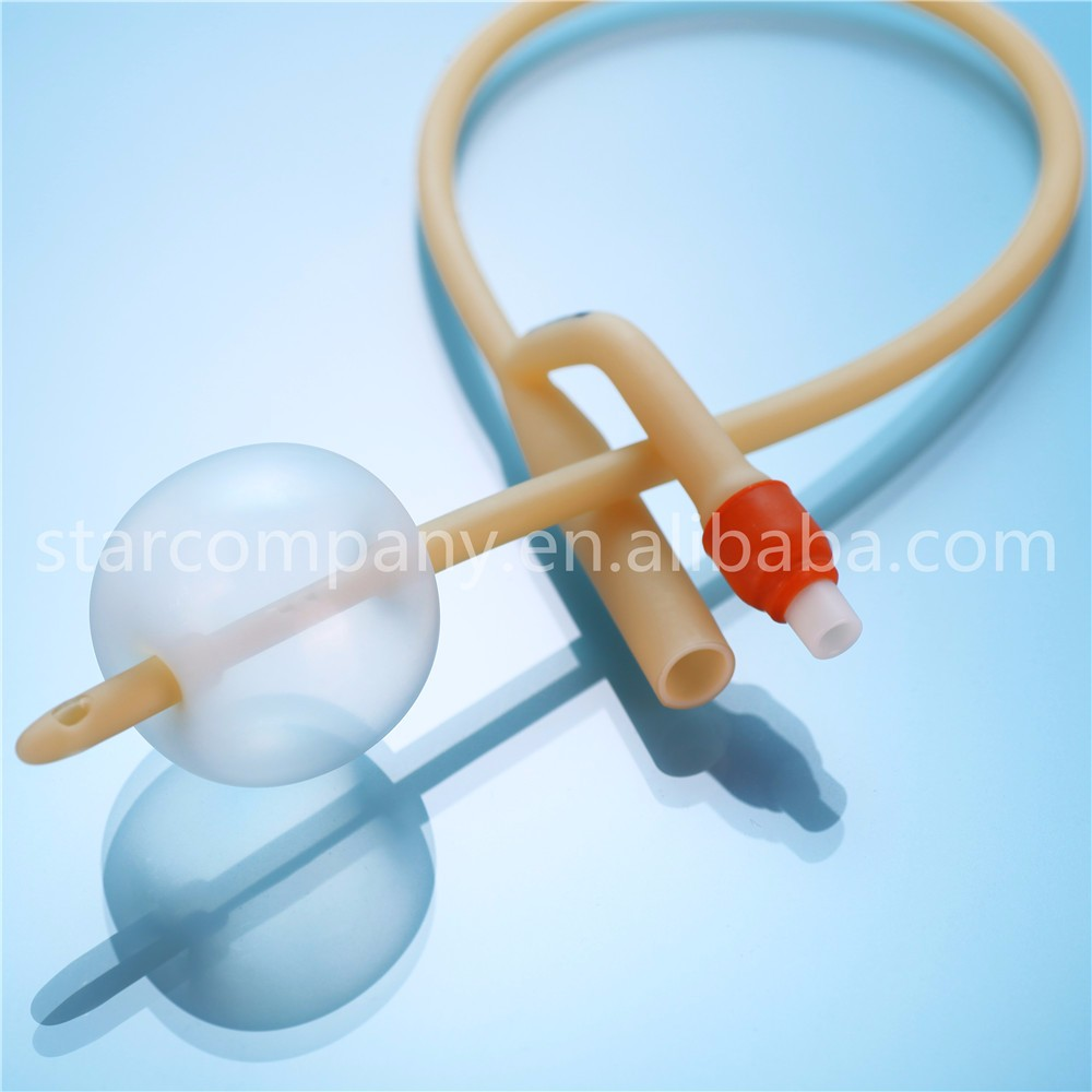 2way latex Foley Balloon catheter