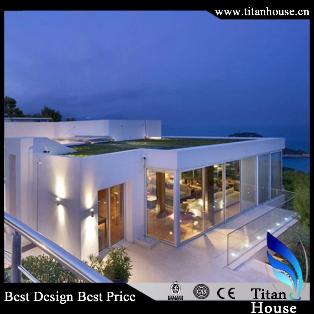 Economical and Luxury Light Steel Structure Prefab Villa for Entertainment